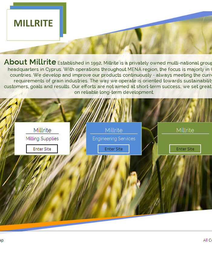 Millrite (Dynamic Website)