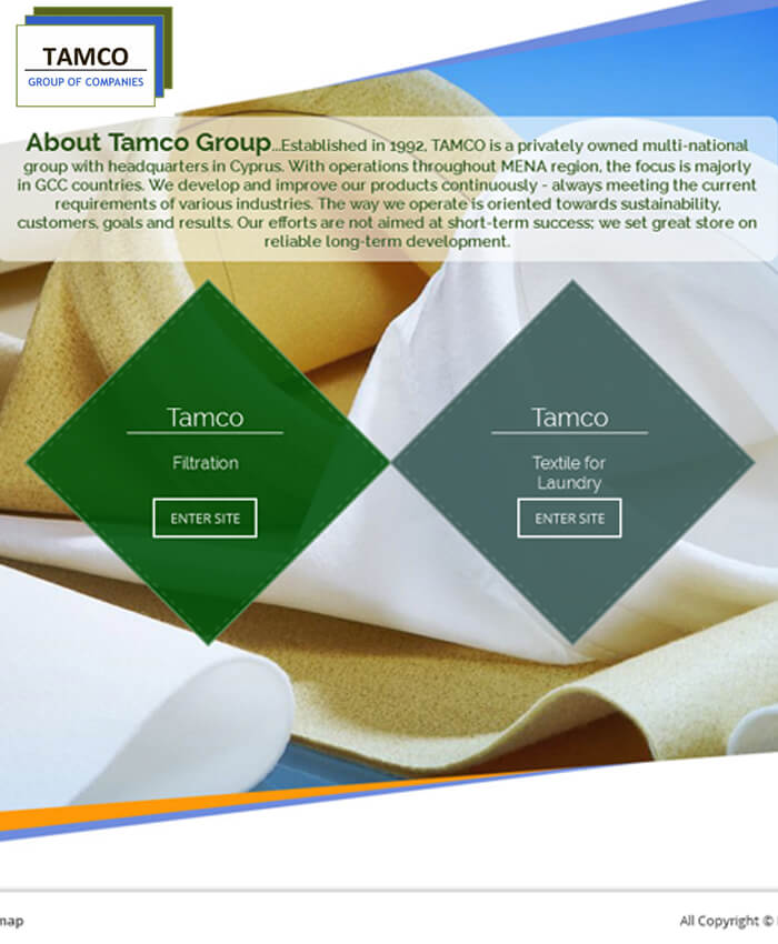 Tamco Group (Dynamic Website)