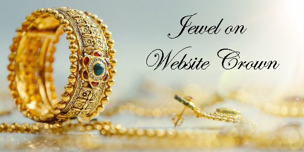 jeweler website design