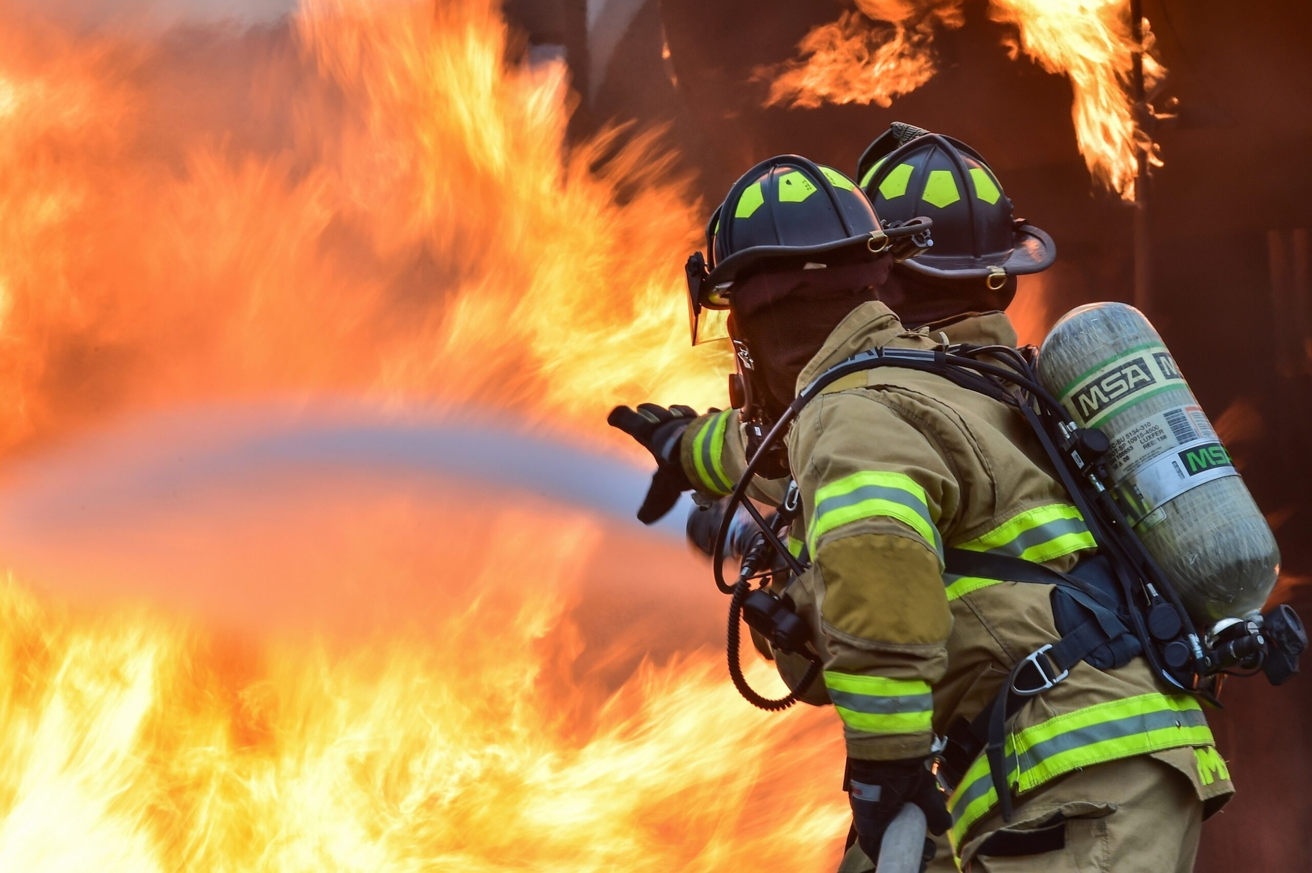 Website Design Service For Fire Safety And Security Company